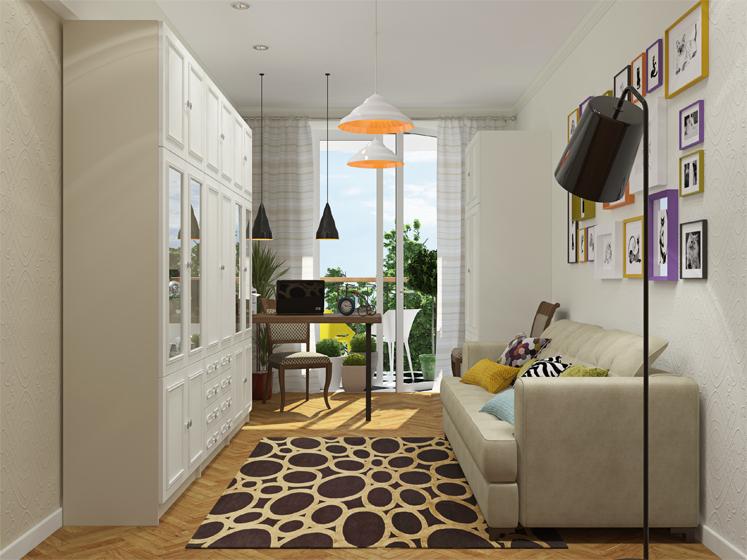 Дизайн комната для гостей